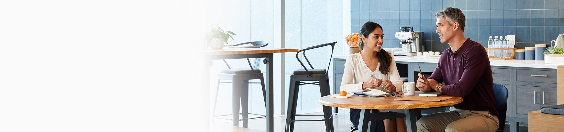 vari office furniture in use