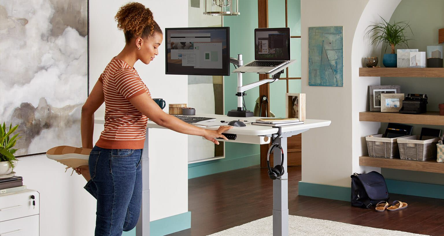 Standing Desks Office Furniture Varidesk Is Now Vari