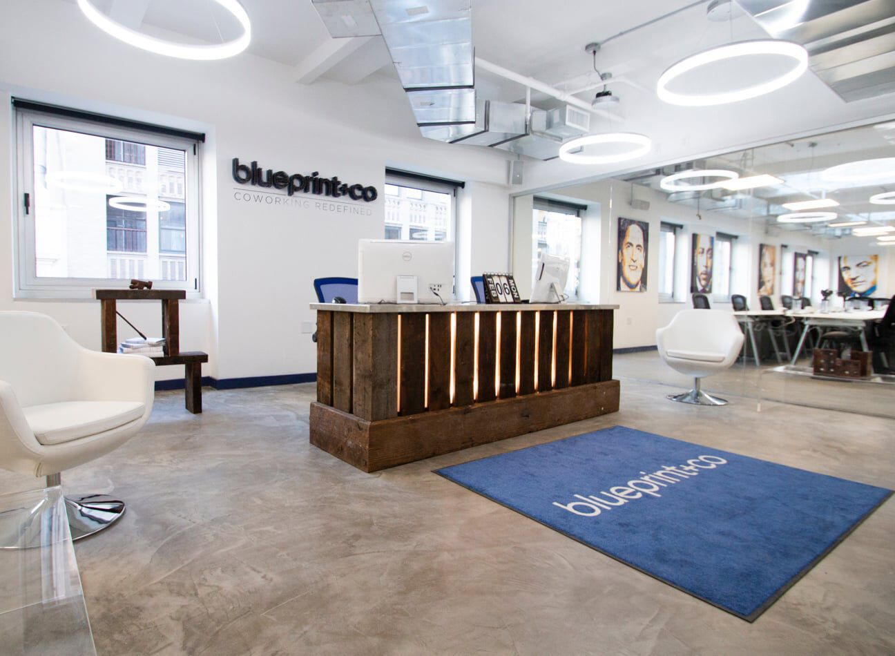 blueprint and co office  image