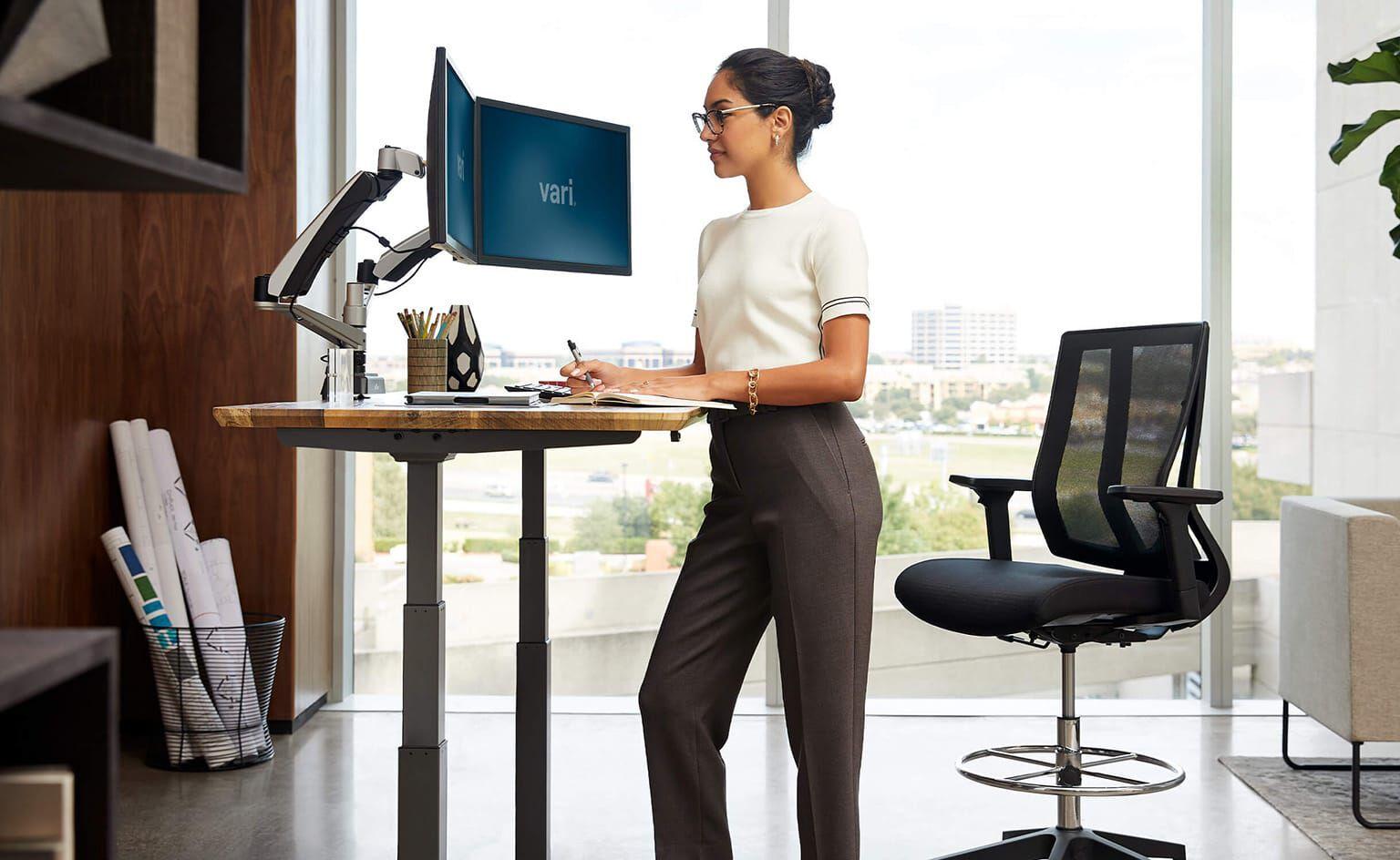 Standing Desks & Office Furniture  VARIDESK is Now Vari®