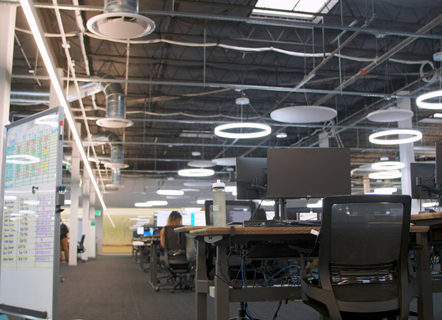 chime headquarters funrished with vari products  image