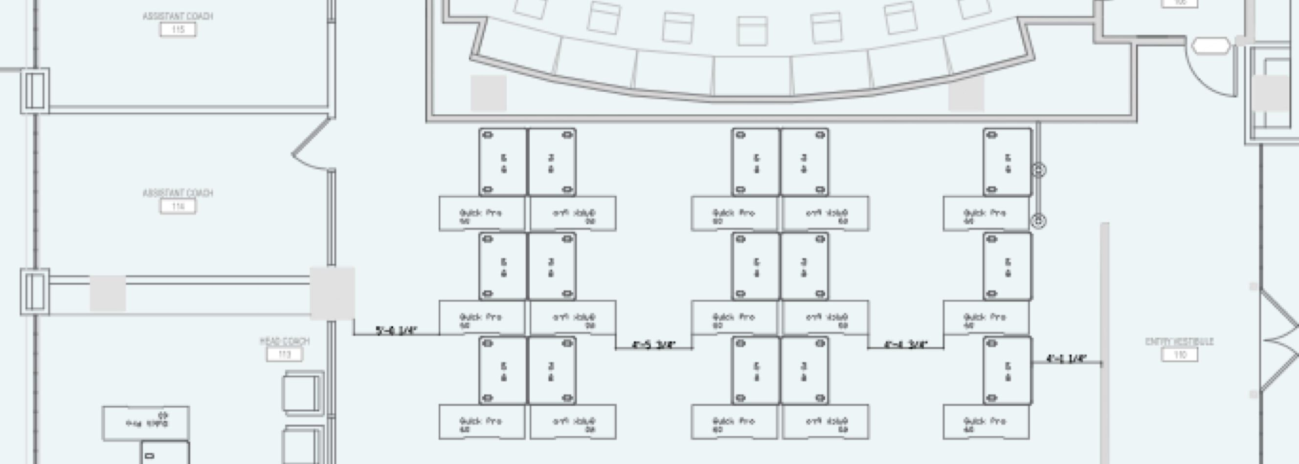 floor plan for dallas mavericks offices  image
