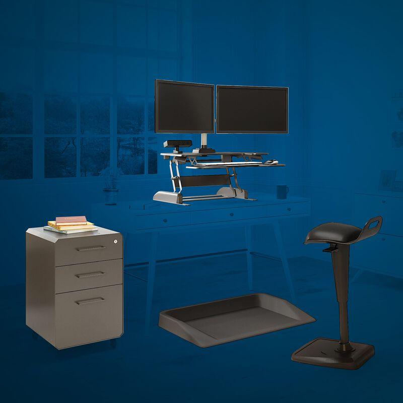 VariDesk converter on white desk in office in a home image number null