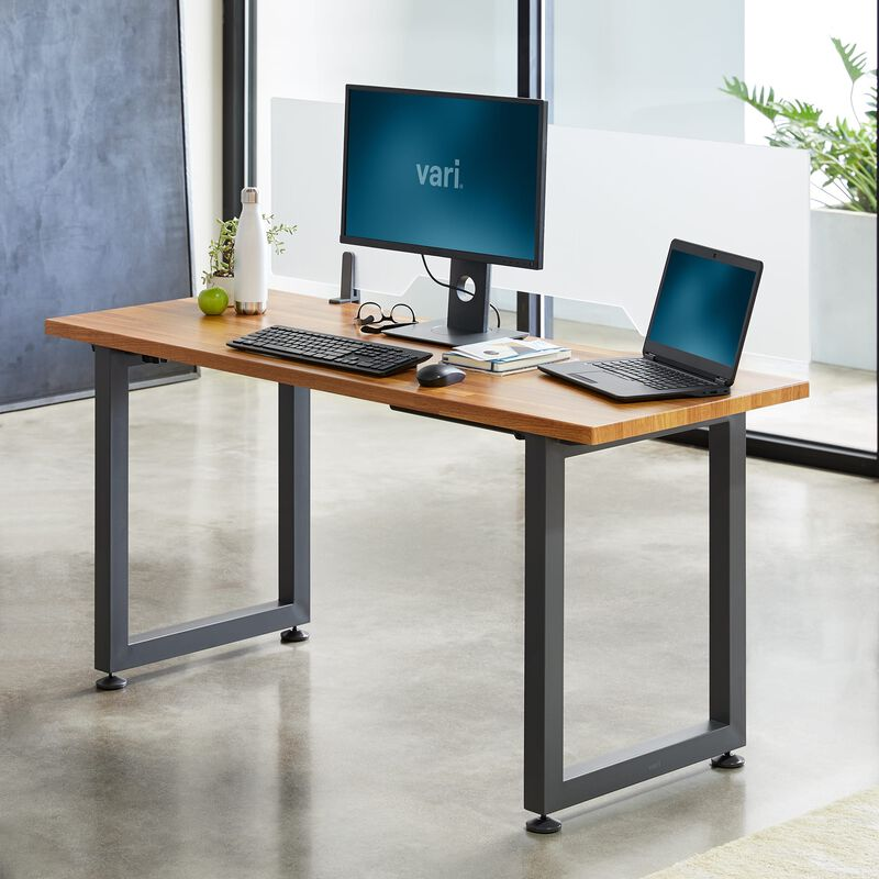 Table 60x24 Butcher Block in office image number null