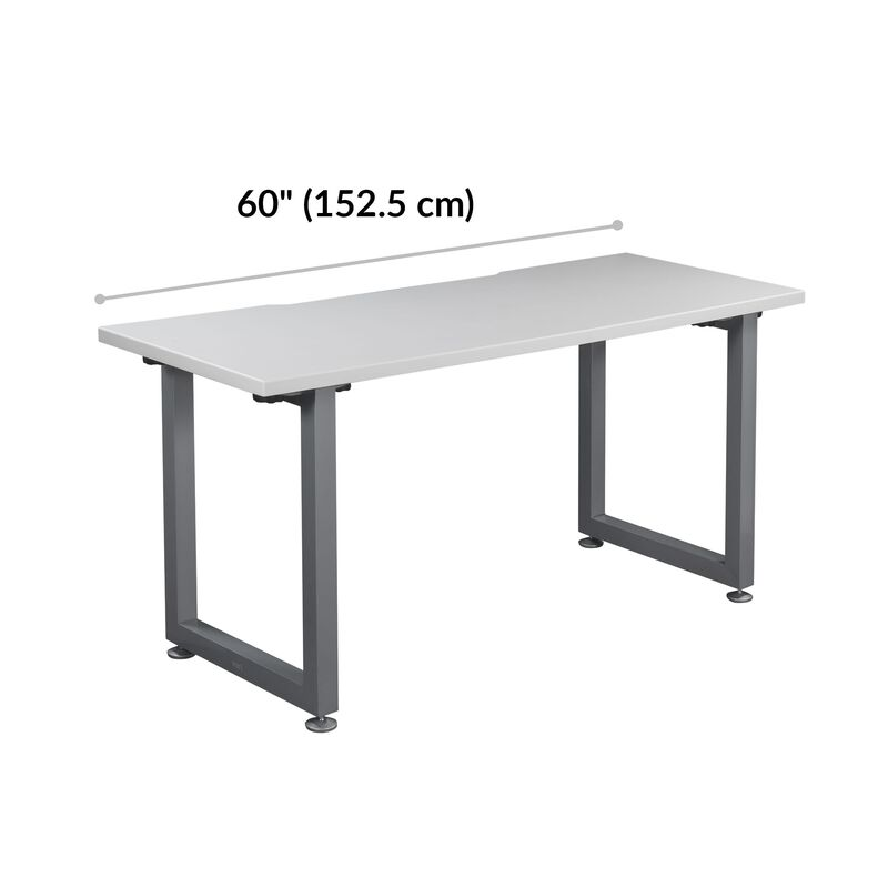 Table 60x30 White is 60 inches wide image number null