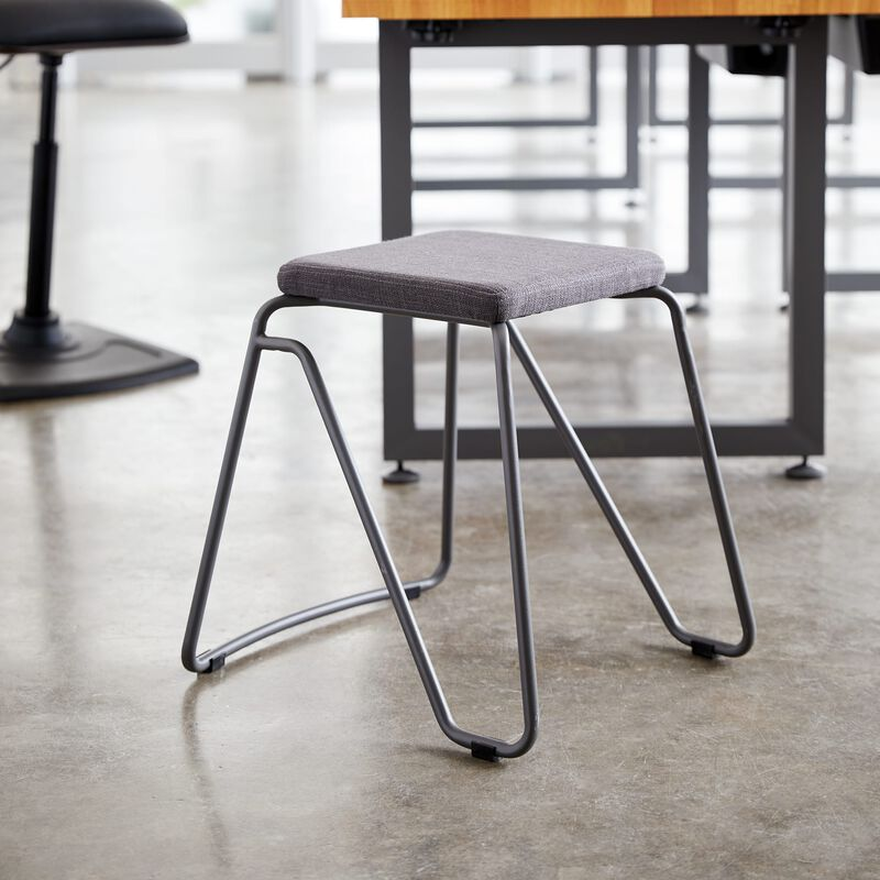 Stool in Slate in office image number null