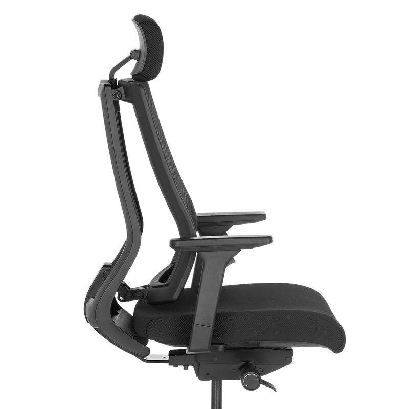 vari task chair with headrest side view image number null