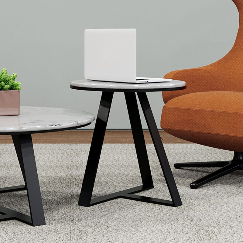 small nesting table in office setting image number null