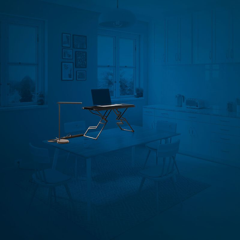 sit-stand tabletop set products outlined on a blue background image number null