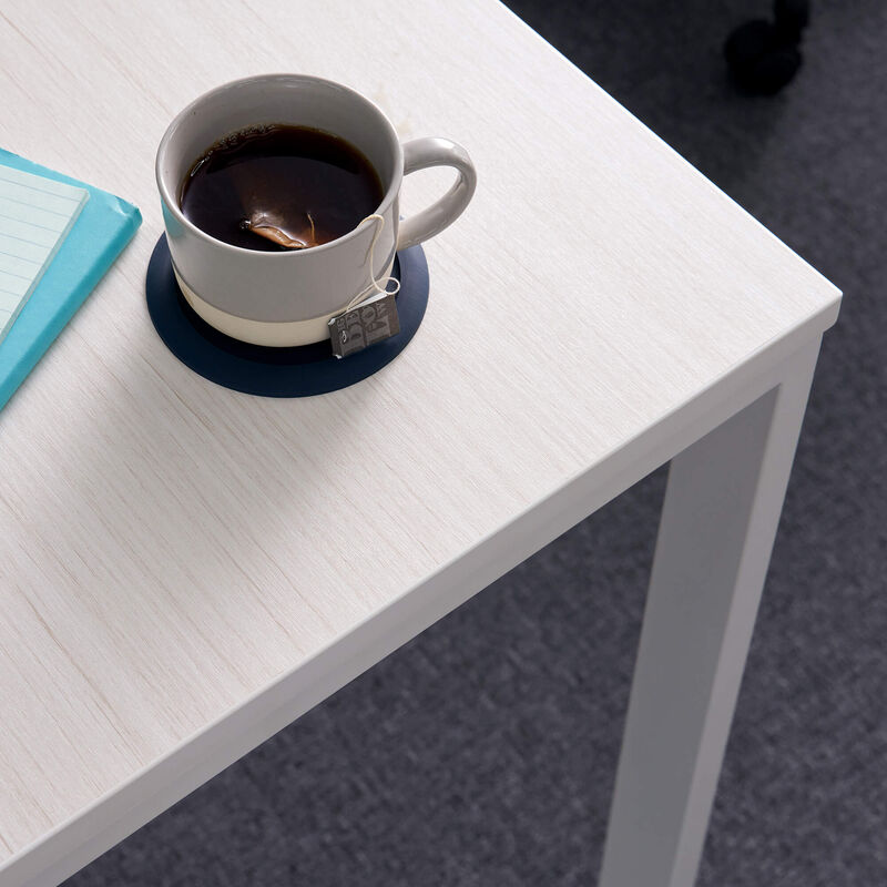 corner of Essential Desk 48x24 Two Leg in ash wood image number null