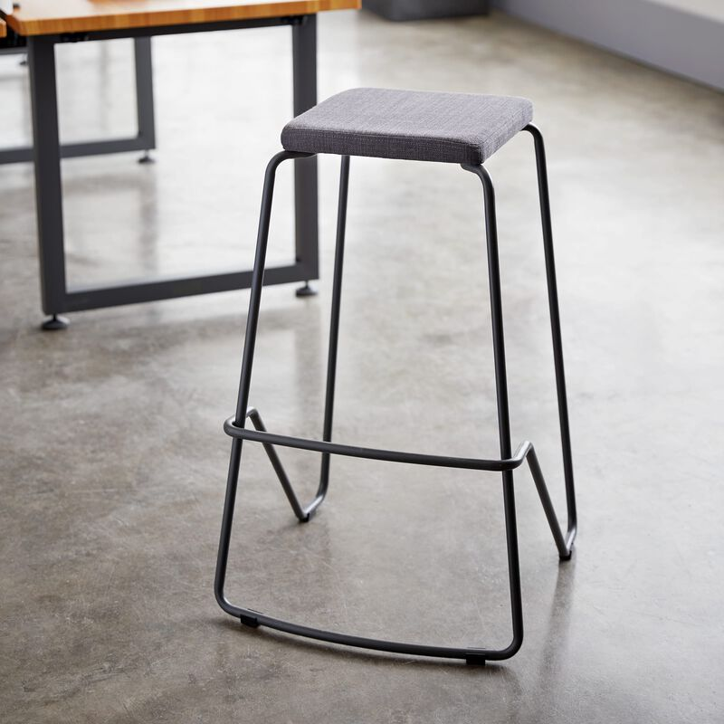 Meeting Stool in slate in office image number null