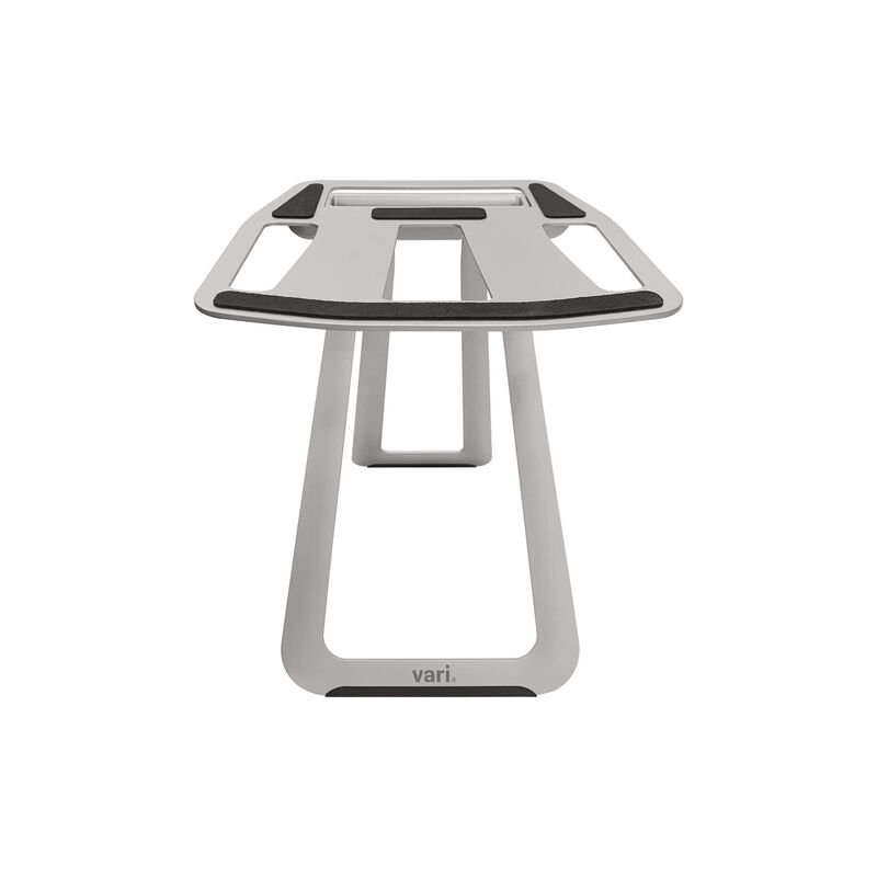 Portable laptop stand on white background image number null