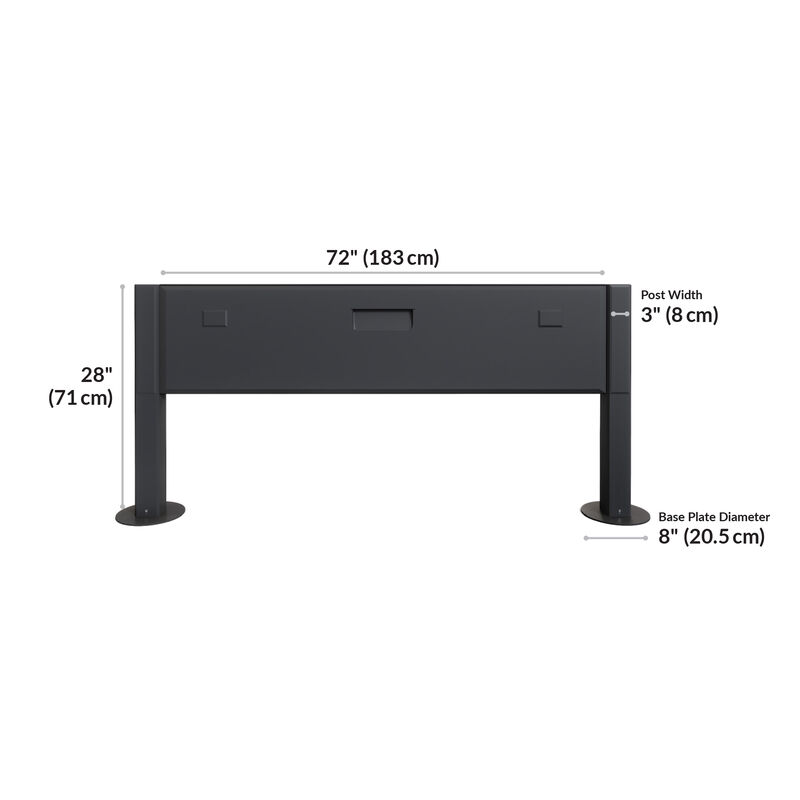 Power beam 72 is 72 inches long and 28 inches tall image number null