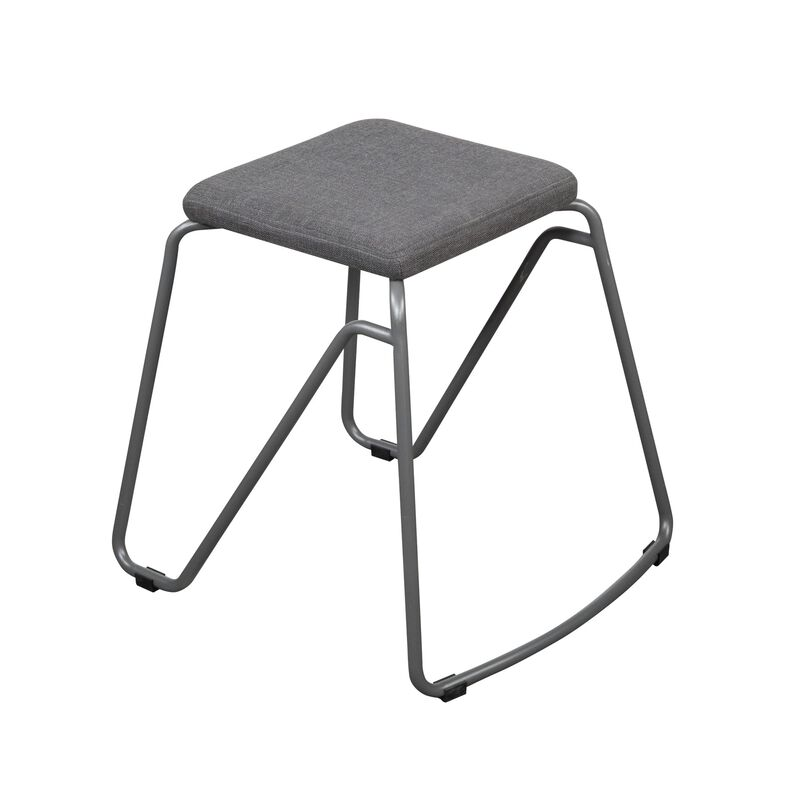 Stool in Slate on white backgroun image number null