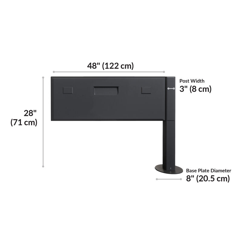 Power beam extension kit is 48 inches long and 28 inches tall image number null