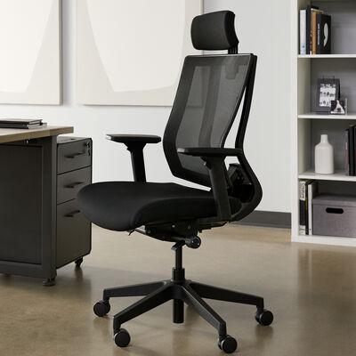 Task Chair with Headrest