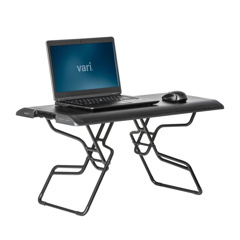 VariDesk® Laptop 30™ Black in raised position image number null
