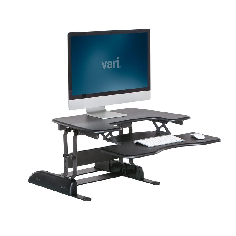 VariDesk® Pro Plus™ 30 Black in raised position image number null