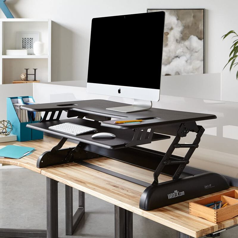 varidesk cube plus 40 raised in office image number null