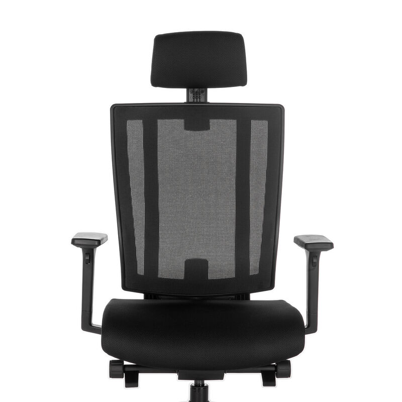 vari task chair with headrest front view image number null