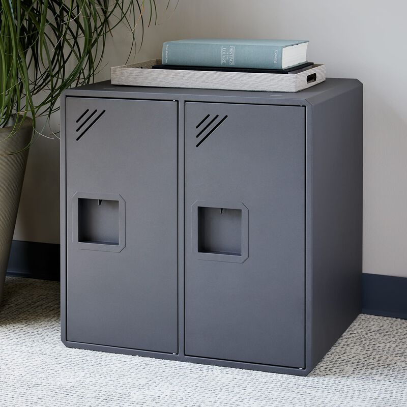Lockers by Vari® on office floor image number null