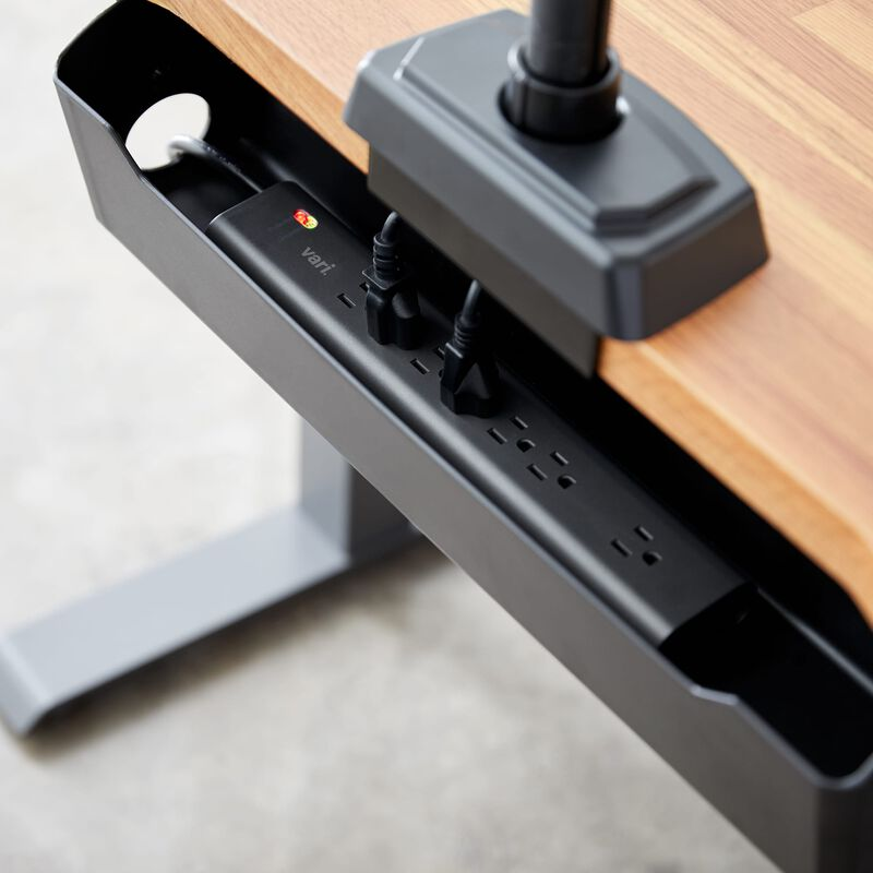 Power Strip 25 in cable management tray (purchased separately) image number null