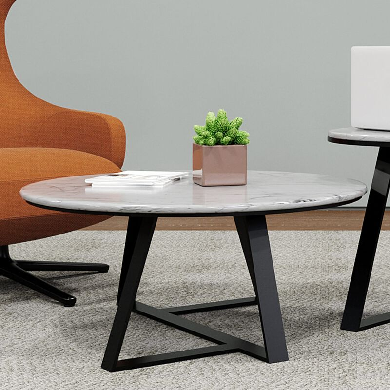 large nesting table in office setting image number null