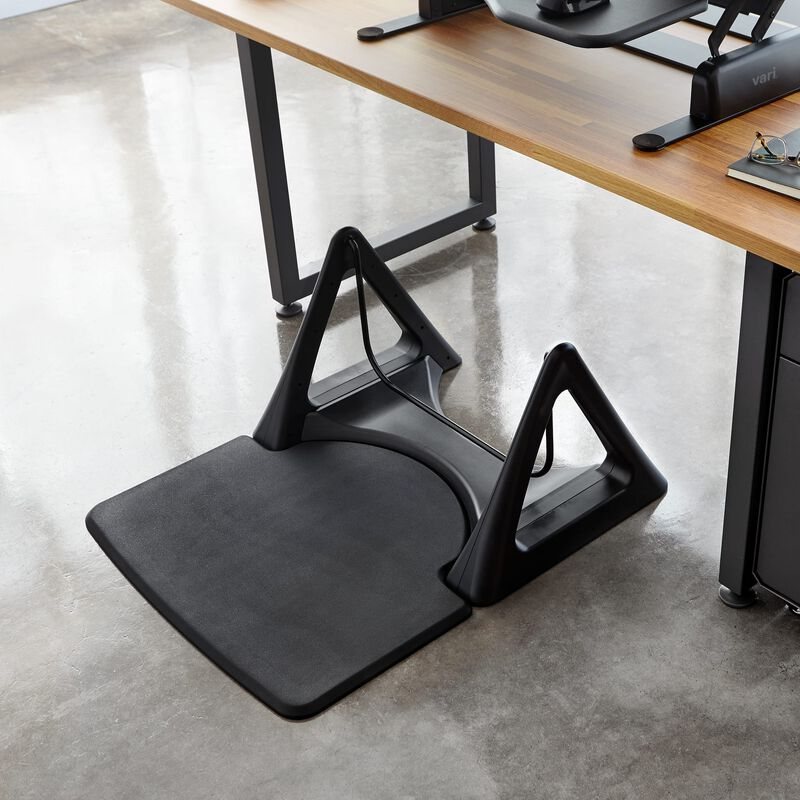 ActiveMat® Rocker Black under desk image number null