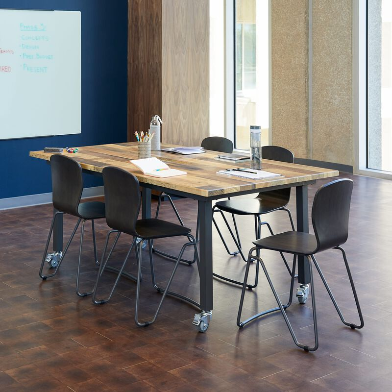 Conference Table Reclaimed Wood in office image number null