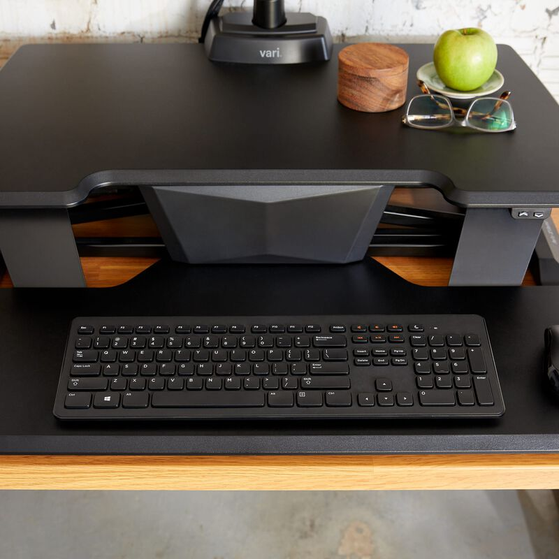 VariDesk® Electric Pro Plus™ 32 Black keyboard tray image number null