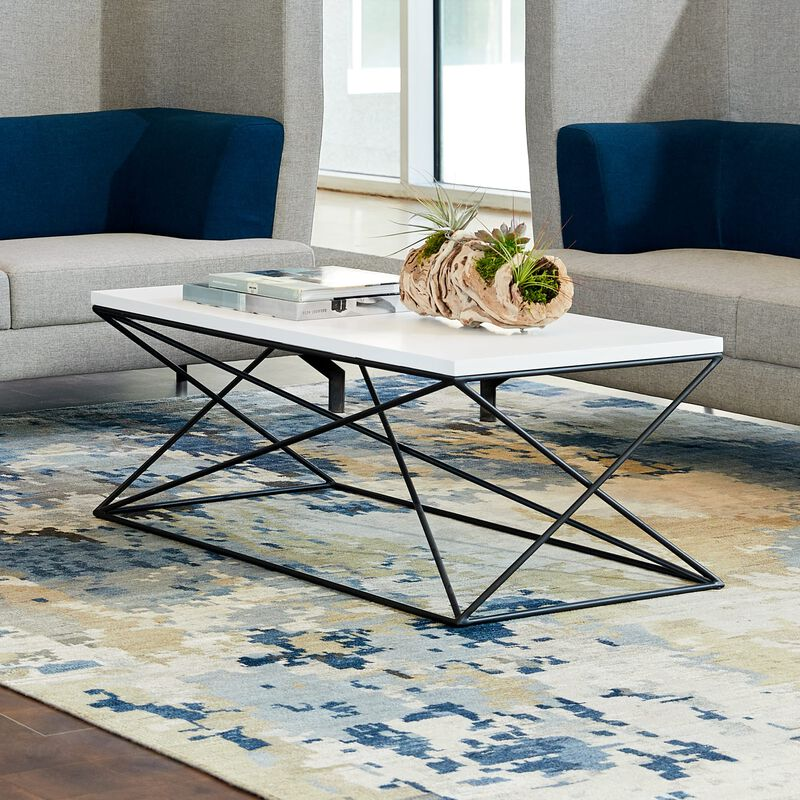 lounge table in office setting image number null