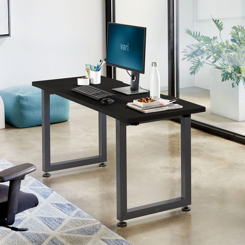 Table 60x24 Black in office image number null