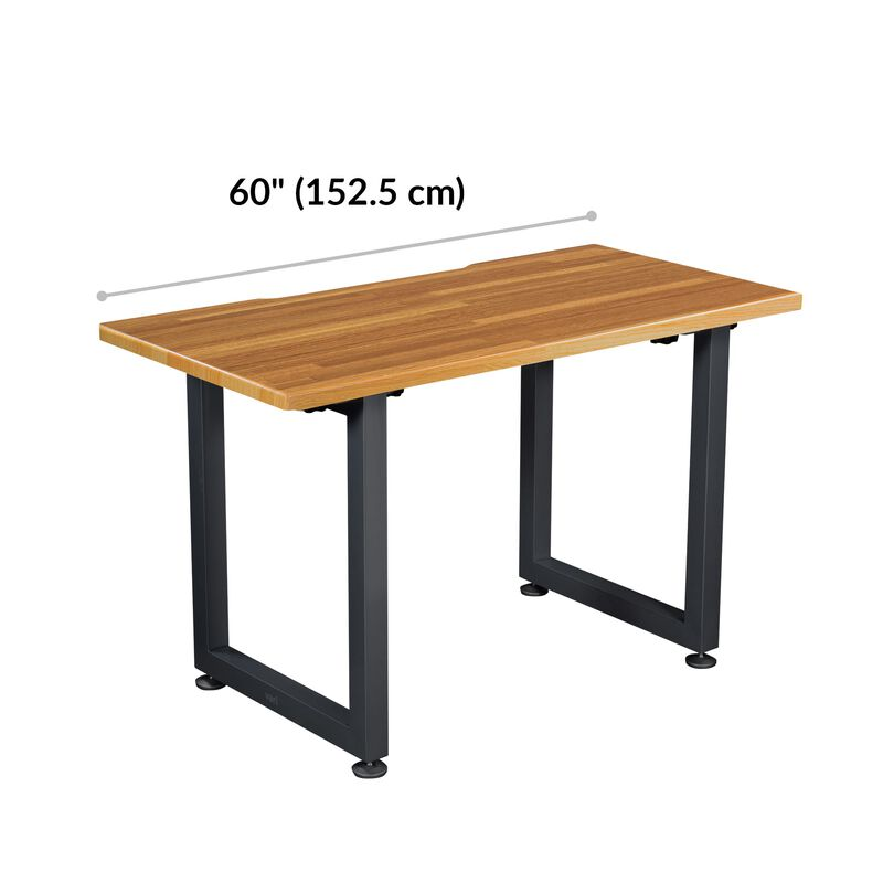Table 60x24 Butcher Block is 60 inches wide image number null