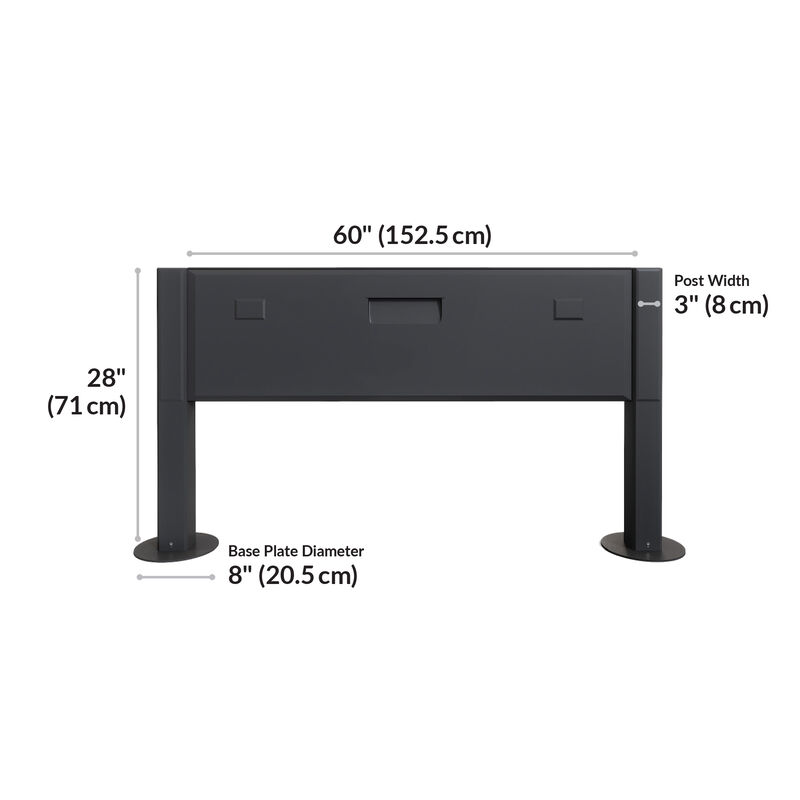 Power Beam 60 is 60 inches long and 28 inches tall image number null