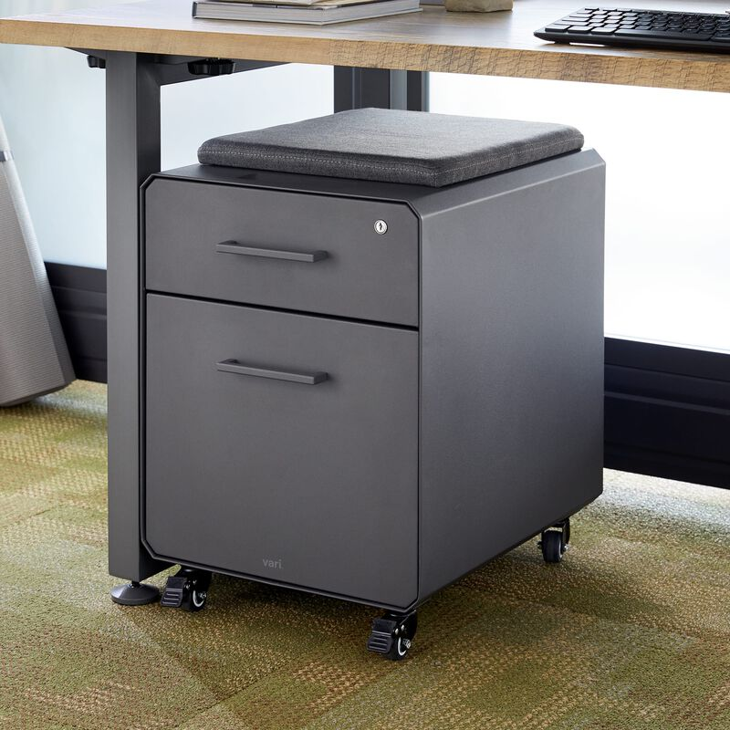 Storage Seat Slate under desk in office image number null