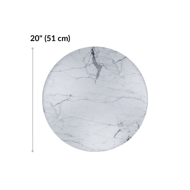 small nesting table diameter is 20 inches image number null