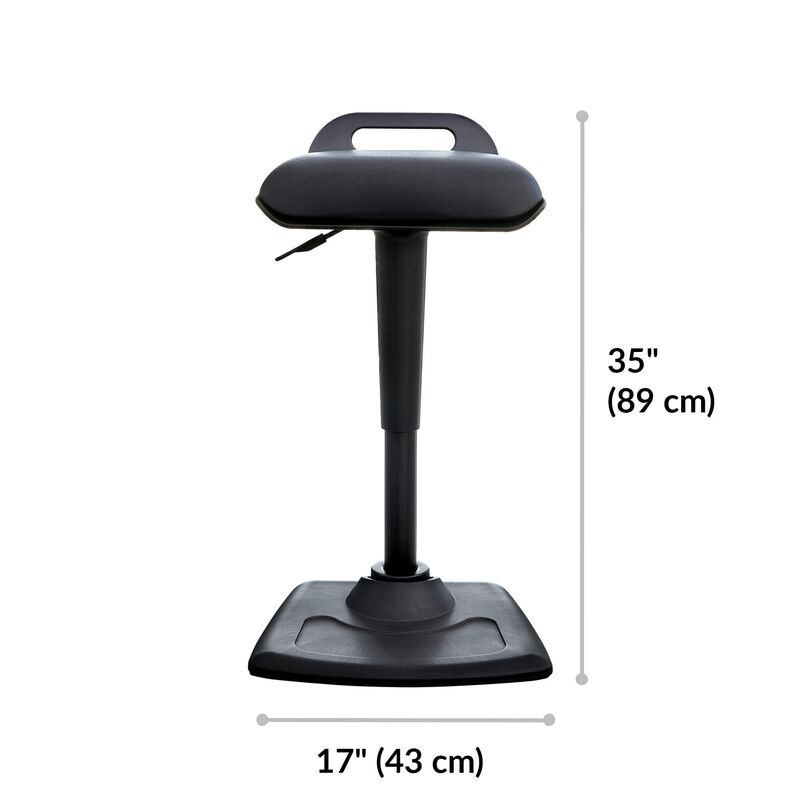 Active Seat is 35 inches tall and 17 inches wide image number null