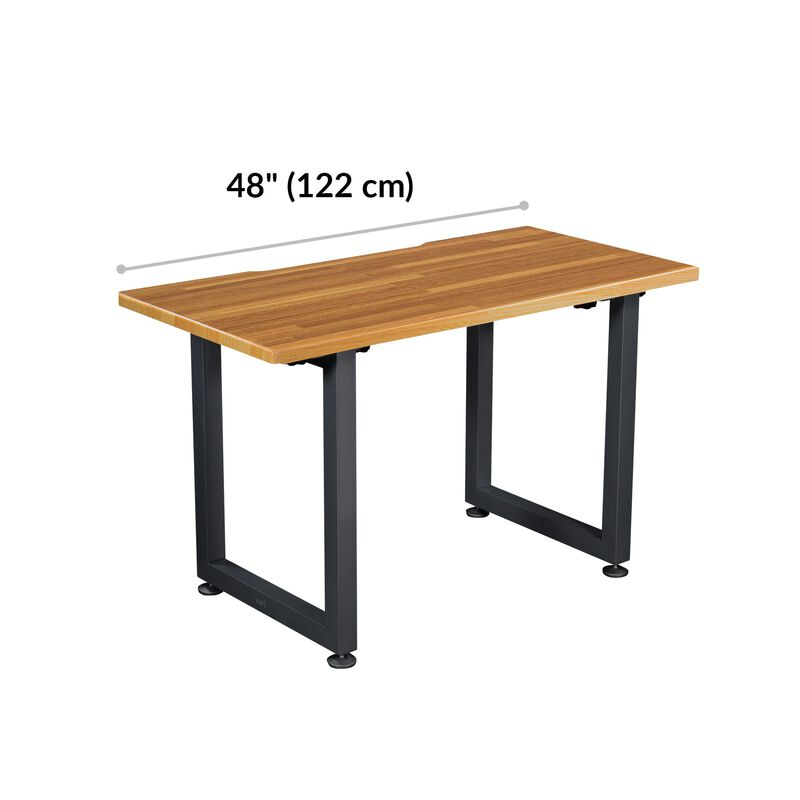 Table 48x24 Butcher Block is 33.5 inches deep and 42.5 inches wide image number null