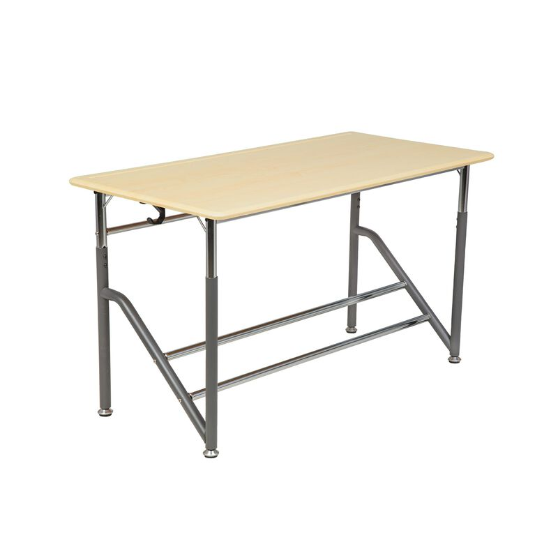 Vari standing school desk for 2 grade 5 through 12 image number null