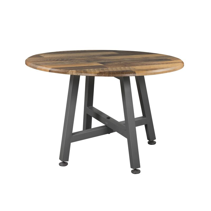 vari round table in butcher block image number null