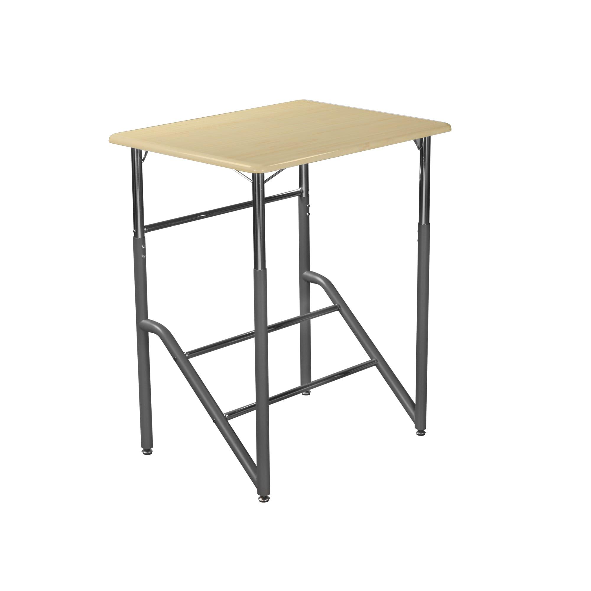Standing School Desk K-5 Maple
