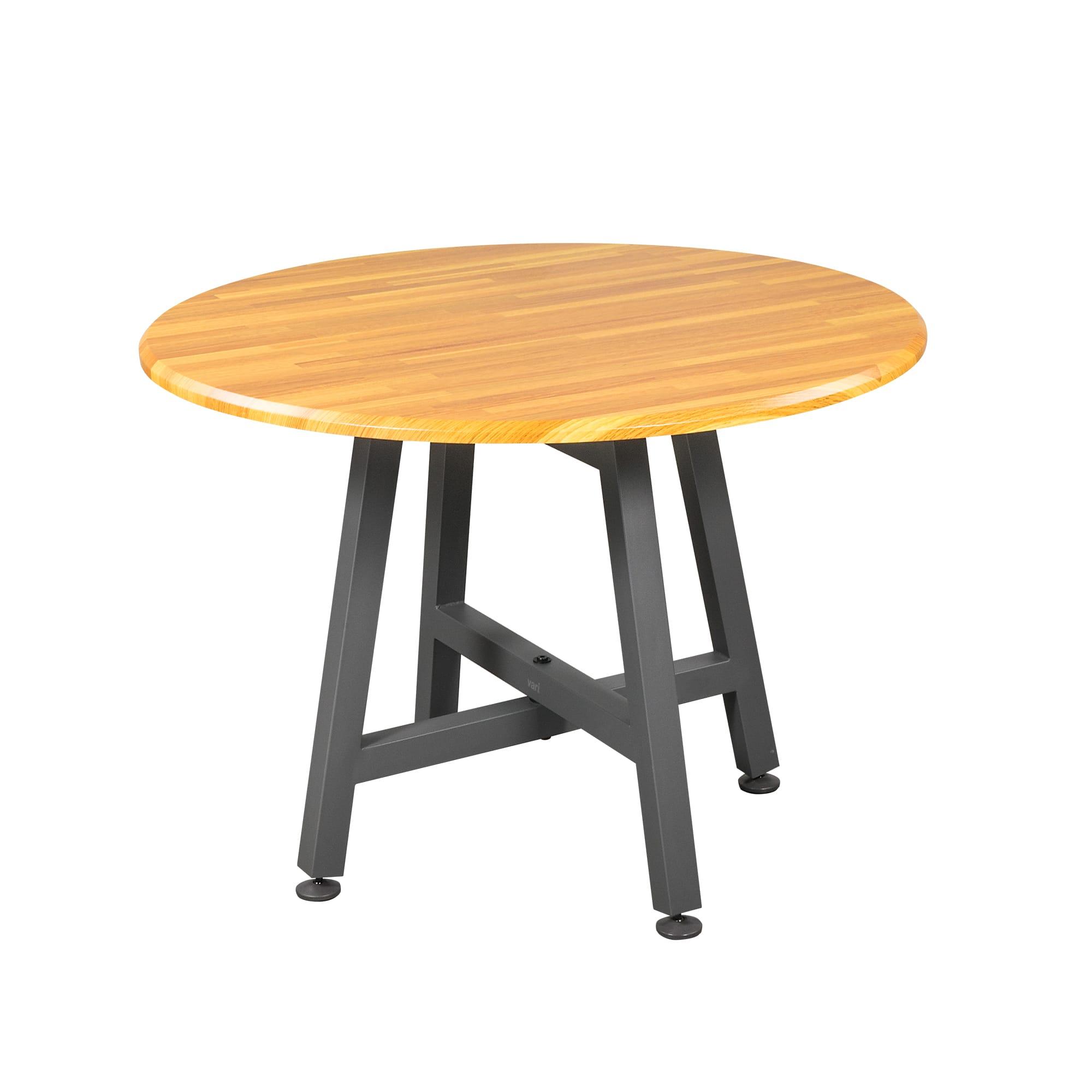 Round Table Butcher Block