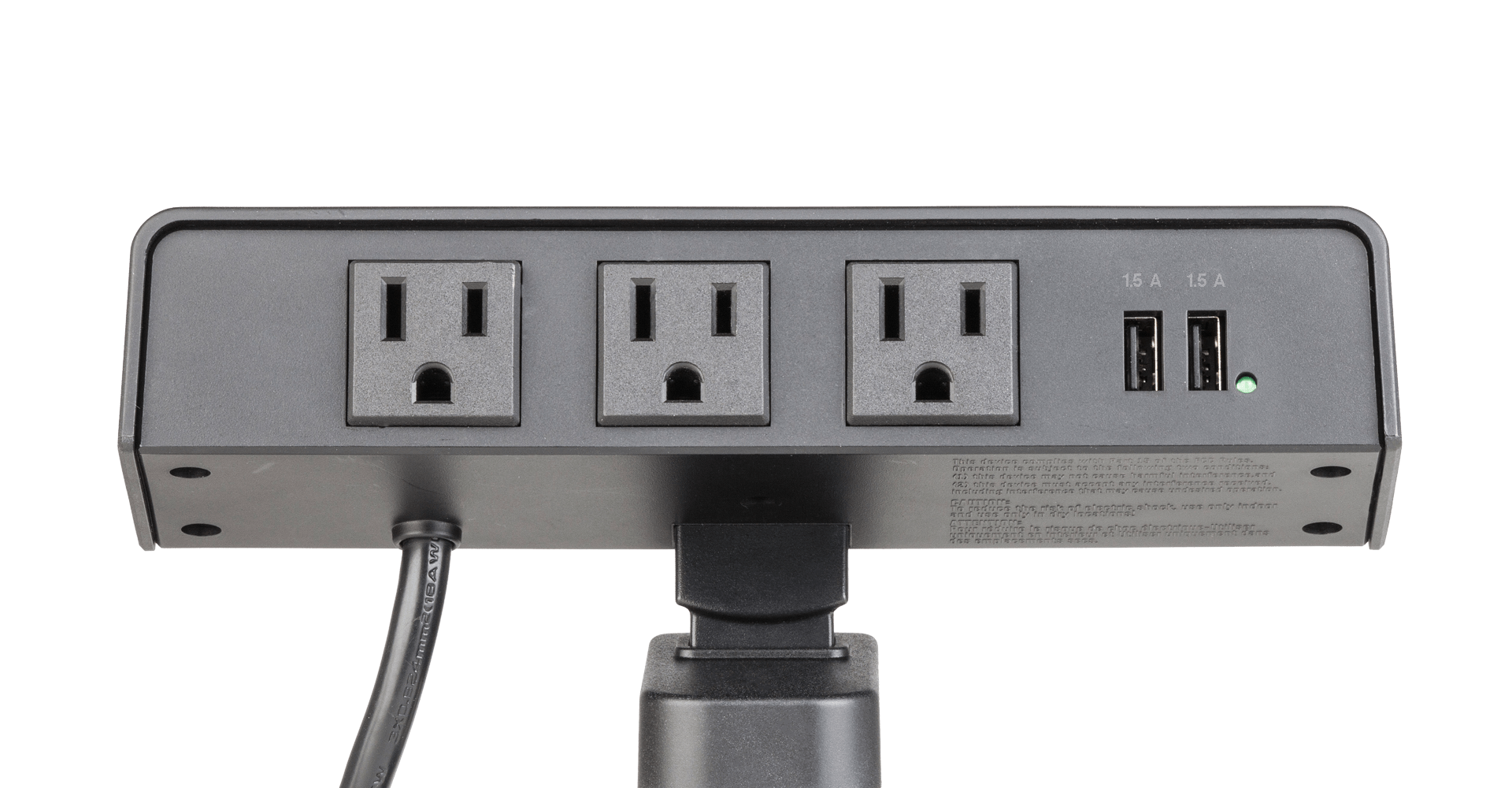 a powerhub desktop power solution