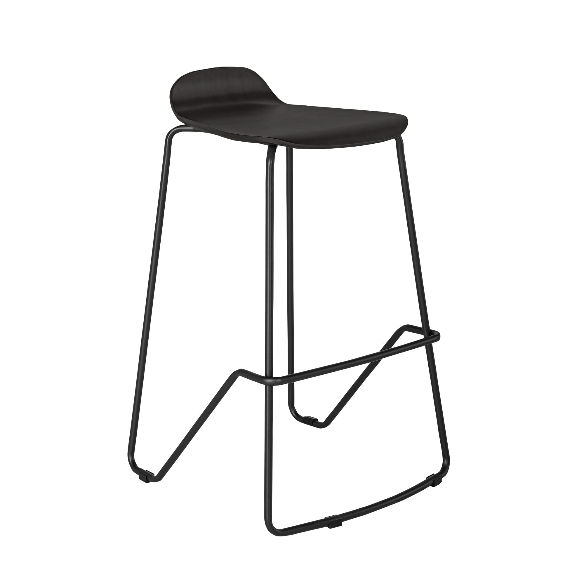 Wood Conference Stool Espresso