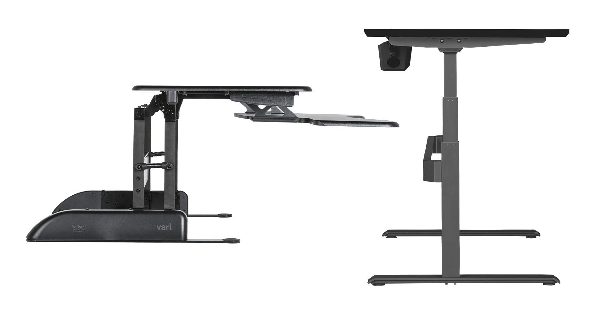 standing desk and varidesk converters are great solutions for your workspace