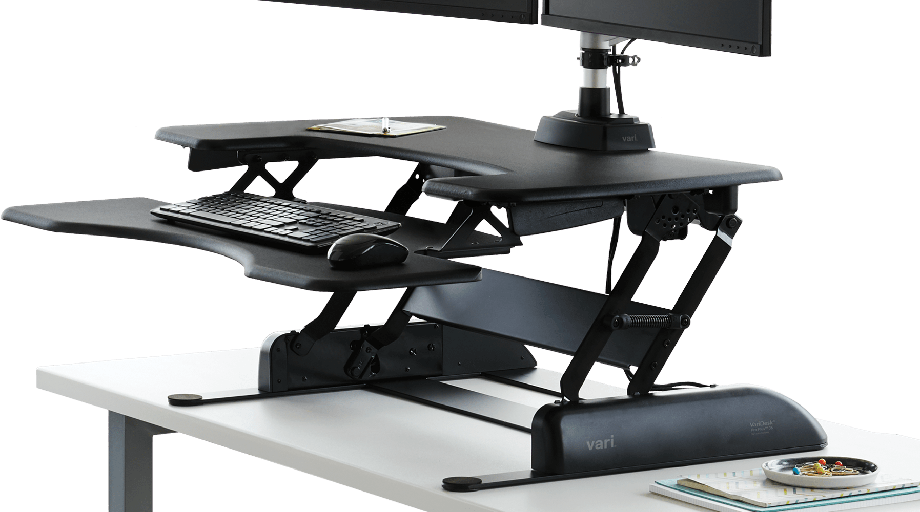 sit-stand converters to use on top of an existing desk